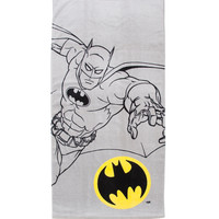 DC Comics Batman Logo Bath Towel