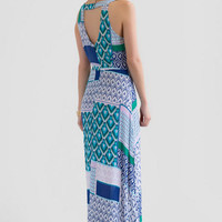 Keya Printed Maxi Dress