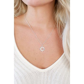 Radiant Shine Necklace - Silver