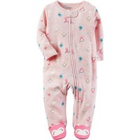 Carters Girls 0-9 Months Owl Sleep N Play (Pink 6 Months) - Walmart.com