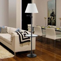 Legacy Home Collection Swing Arm Floor Lamp With Gallery Tray, Dark Bronze - Walmart.com