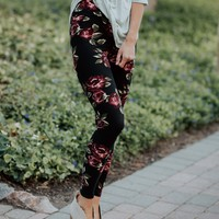 SA Exclusive Love Me Some Floral Leggings