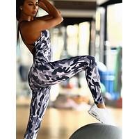 Women Camouflage Sporting Jumpsuit