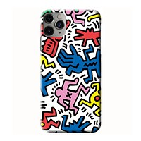 KEITH HARING iPhone 3D Case Cover