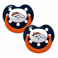 Denver Broncos 2pk Baby Pacifier -N Style