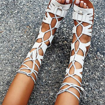 FP Collection Mesa Verde Gladiator Sandals at Free People Clothing Boutique