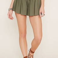 Drawstring High-Waisted Shorts | Forever 21 - 2000153516