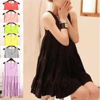 Modal Cute Women Sleeveless Blouses Shirts 2017 Maternity Dresses For Summer Loose Pregnant Clothes Gestantes Roupas Tops