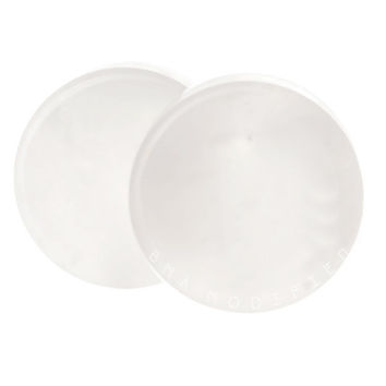 """Concave White Jade Stone Plugs BMA (6mm-27mm) 2g - 1 1/8"""""""