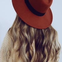 Found You There Hat: Chestnut/Black
