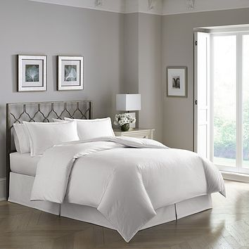 PEARLIZED HELIX PATTERN 300 TC DUVET SET