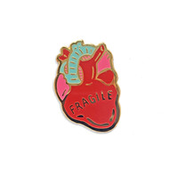 Fragile Heart Pin