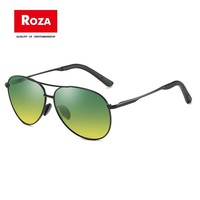 2019 ROZA HD Vision Anti Wrap Glare Day & Night Sun Polarized men Sunglasses