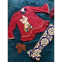 Rare E Fall Red Fox Pant Outfit CL