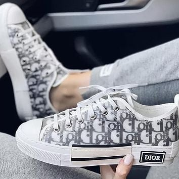 Dior High - Top Sneaker Sneakers Transparent Plastic Skate Shoes Women Men Shoes