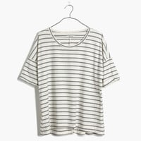 Breeze-Back Tee in Stripe