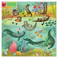 BACK ORDER Otters 1000 Piece Puzzle Jigsaw Puzzle