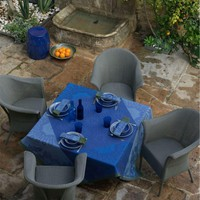 Jardin D'Orient Blue Table Linens