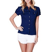 Short Sleeve Button Down Shirt (CLEARANCE)