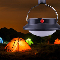 Portable 60 LED Camping Lamp Outdoor Light Tent Umbrella Battery Operated Night Lamp With 3 Lighting Modes