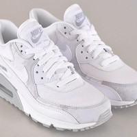Nike Air Max 90 Women Sport Casual Cherry Blossoms Multicolor Air Cushion Sneakers Running Shoes