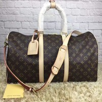 cc DCCK2 leather louis vuitton luggage 55 CM