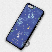 Vintage Book Story Peter Pan - iPhone 7 6 5 SE Cases & Covers