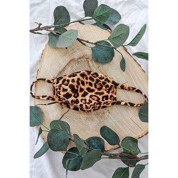 Kids Face Mask - Leopard