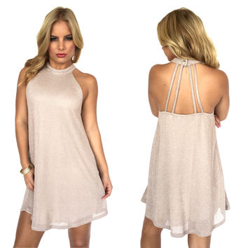 Champs & Shimmer Party Dress