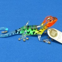 Glass Baron Rainbow Gecko