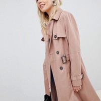 New Look Structured Trench Trench Coat at asos.com