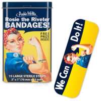 """Rosie the Riveter """"We Can Do It!"""" Bandages"""