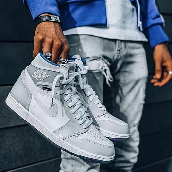 Nike Air Jordan 1 High Zoom Racer Blue Sneakers Shoes