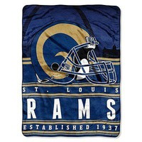St Louis Rams NFL 60x80 Stacked Series Oversized Silk Touch Throw