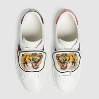 shosouvenir :GUCCI Ace sneaker with removable patches