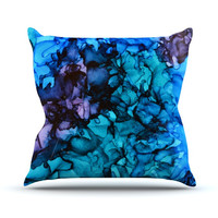 """Claire Day """"Lucid Dream"""" Throw Pillow, 16"""" x 16"""" - Outlet Item"""