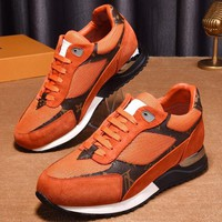 Louis Vuitton Man Fashion Sports shoes