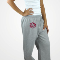 Monogrammed Sweatpants (S-XL) from J Marie Boutique