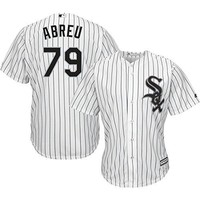 Jose Abreu Chicago White Sox #79 MLB Youth Cool Base Home Jersey (Youth Small 8)