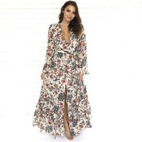 Bundle Of Joy Floral Maxi Dress