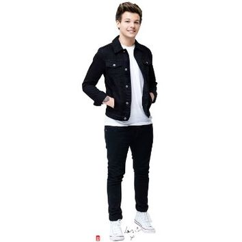 ONE DIRECTION 1D LOUIS TOMLINSON LIFESIZE CARDBRD STANDUP STANDEE CUTOUT POSTER
