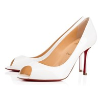 Christian Louboutin Cl Yootish Latte Patent Leather 16w Pumps 3160715wha8 -