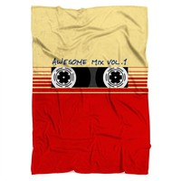 Awesome Mix Vol 1 Blanket