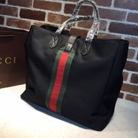 Gucci Techno canvas tote