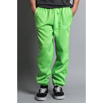 Basic Solid Color Fleece Sweatpants (New Colorways)