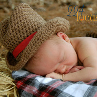 Cowboy, Hat, Photo Props, Baby Hat, Photography Props, Cowboy Hat, Halloween Costume, Newborn Cowboy Hat, Western Hat, Hat, Beanie, Boys