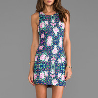 Somedays Lovin Zippora Ponte Dress in Zippora Floral from REVOLVEclothing.com