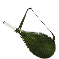 Green Crocodile Roger Tennis Racket Cover