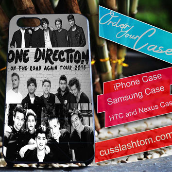 Exclusive One Direction Collage iPhone for 4 5 5c 6 Plus Case, Samsung Galaxy for S3 S4 S5 Note 3 4 Case, iPod for 4 5 Case, HtC One M7 M8