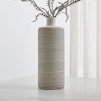 Raya Cream Bottle Vase